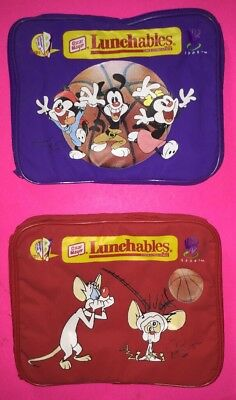 Animaniacs and Pinky and the Brain Lunchboxes / Lunch Bags (1997 Lunchables)