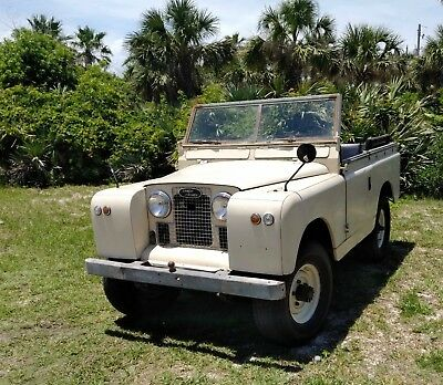 1966 Land Rover Other  1966 Land Rover Series IIa Barn Find  2A Left Hand Drive