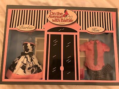 2018 Barbie Convention Exclusive Barbie & Ken Outfits Fashion On The Avenue Gift