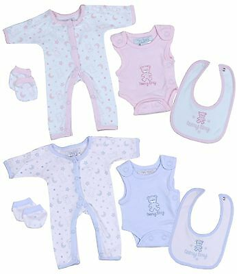 BABY PREMATURE TINY BABY CLOTHES 4 PIECE INCUBATOR/HOSPITAL SET 4lbs 5lbs NEW