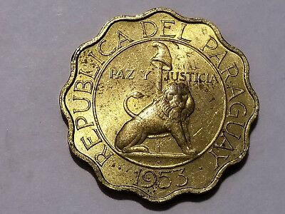 1953 Paraguay 50 Centimos