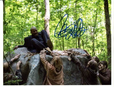 the walking dead SETH GILLIAM autograph HAND SIGNED 513
