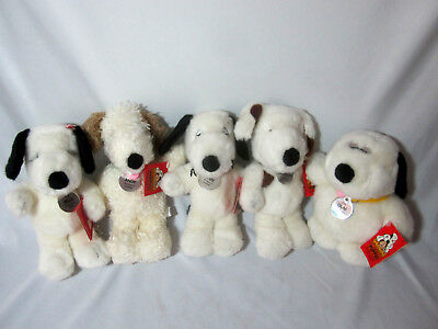 NWT Daisy Hill Puppies Snoopy Bros Spike Andy Marbles Olaf Sis Belle Plush Dolls