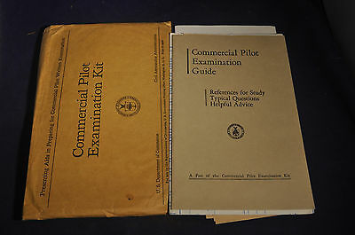 1948 Commercial Pilot Examination Guide & Materials