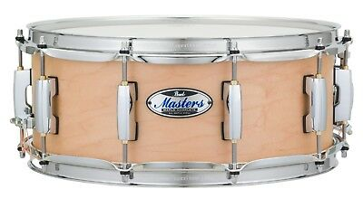 """Pearl Masters Complete MCT 14"""" X 5.5"""" Snare Drum/#111/Matte Natural/New"""
