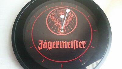 Jagermesiter Herbal liqueur Clock (light up, full sized)