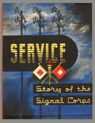 Lot of 5 Postcards - Stars & Stripes Cover: Service - Story of the Signal Corps