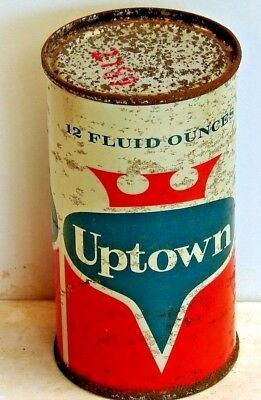 Uptown; Milwaukee, WI; solid top / flat top steel soda pop can