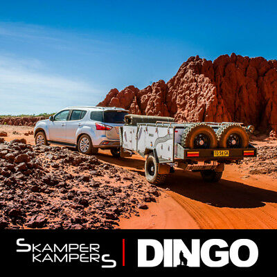 NEW 2018 Skamper Kampers Dingo Forward Fold Camper Trailer - Off Road