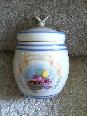 Lenox 2000 Disney The Pooh Pantry Spice Jar - Curry