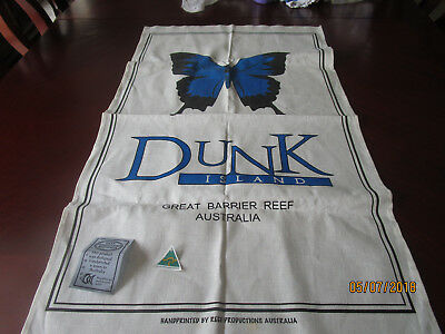 Linen Cotton Tea Towel - Dunk Island