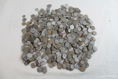 3.16 lb Lot Of Ancient Roman Coins Bronze Copper