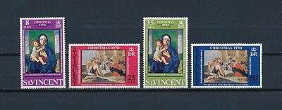 St. Vincent  #308-11 MNH, Nativity Scenes, 1970