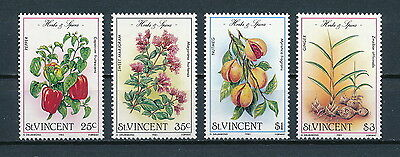 St. Vincent #829-32 MNH, Herbs and Spices