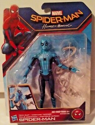 Marvel Spider-Man Homecoming Tech Suit Spider-Man Action Figure New MOSC