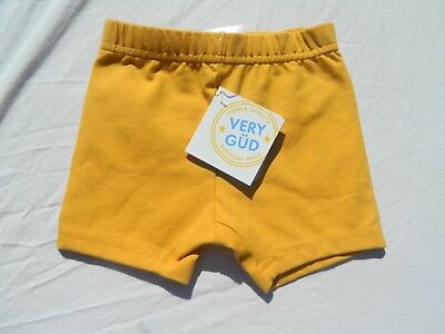 NEW!! Hanna Andersson yellow girls boys Shorts Size 80 US Size 12-24 Months NWT