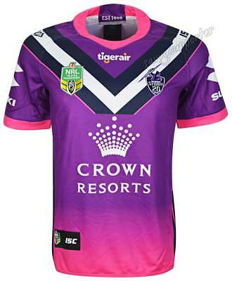 Melbourne Storm 2018 NRL Women in League Jersey Mens & Ladies Sizes