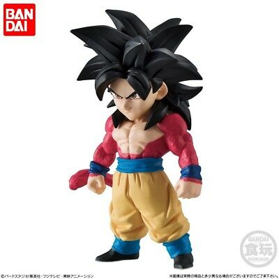 Bandai Dragon Ball GT Z Super Adverge 7 Mini Figure Son Goku Super Saiyan 4 NEW