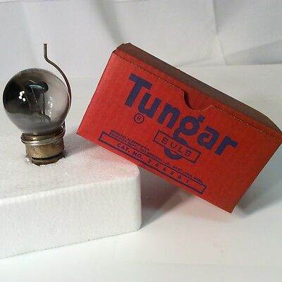 Vintage Tungar No. 206501 Light Bulb made in the USA, not tested with box