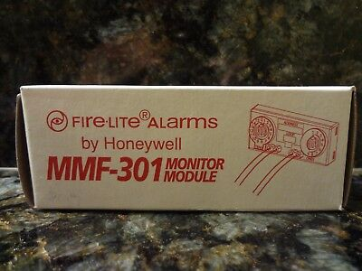 Brand New Fire-Lite Mmf-301 Intelligent Monitor Module Free Shipping !!!