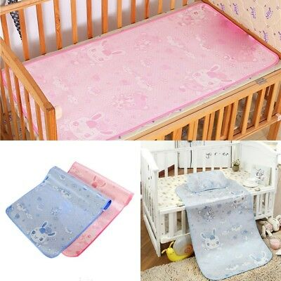 Newborn Baby Crib Bed Sheets Cool Breathable Cozy Baby Cot Sheets Sleeping Mat