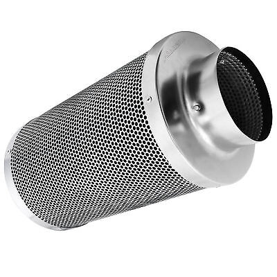 "New 4"" Air Carbon Charcoal Filter Inline Fan Scrubber Odor Control Hydroponic"
