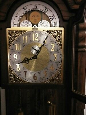 antique Trend grandfather clock by Sligh with Original Kieninger