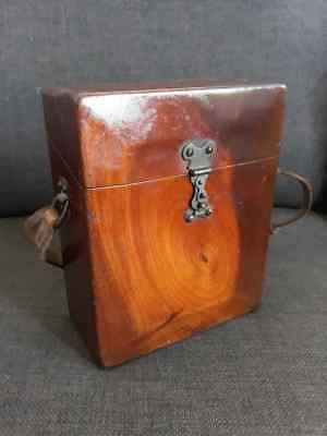 Antique Hand made wooden Case for Folding Camera-Dovetail Joints