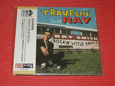 RAY SMITH Travelin' With Ray  JAPAN MINI LP CD