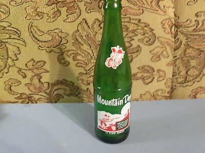 Vintage 12 Oz. Redhead Mountain Dew Bottle