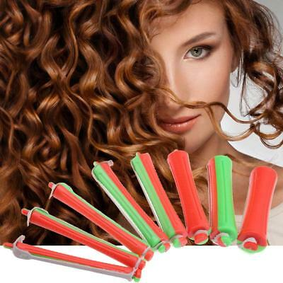 80pcs Cold Wave Rods Salon Roller Curlers Curling Rubber Band Styling Hair Clip