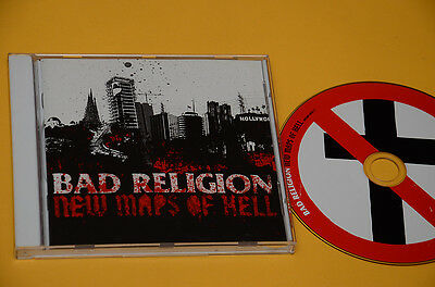 Cd (No Lp ) Bad Religion New Maps Of Hell Orig With Booklet Like New Ex