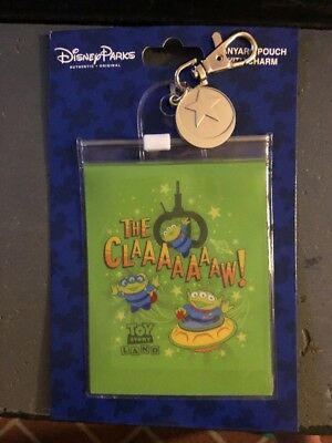 Disney Toy Story Land Aliens Lanyard Pouch The Claw NEW