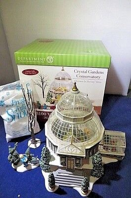 Department 56 2004 Crystal Gardens Conservatory 56.59219 Retired