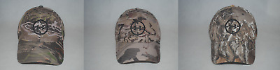 New Under Armour UA Camo Stretch Fit Cap Hat #1318532 Men's Hunting Headwear