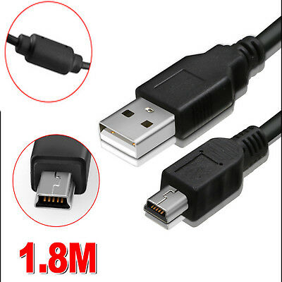 1.8M USB Power Charger Charging Cable for Sony PS3 Move Wireless Game Controller