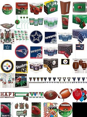 NFL American Football Birthday Party Decorations, Table Wear Children BBQ Summer