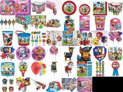 Paw Patrol Birthday Party Decoration Table Wear Children Summer Plates Balloon,
