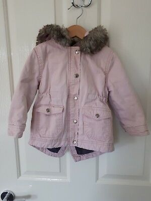 Cotton On Toddler Girl Coat Pink Size 2