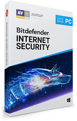 Bitdefender Internet Security 2019 – 1, 3, 5 oder 10 Windows-PC | 1, 2, 3 Jahre
