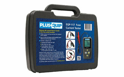 Plusquip Automotive Handheld Fuse Current Tester
