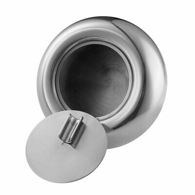 Small Outdoor Stainless Steel Tabletop Cigarette Ashtray with Lid Round Silver