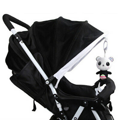 Baby Infant Rattles Plush Animal Stroller Hanging Bell Play Toys Doll Soft Bed C