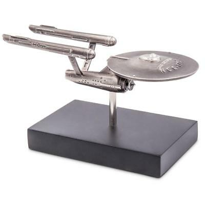 Neuseeland 2018 - Star Trek™ Enterprise NCC 1701™ - 150 gr. Silber Antik Finish