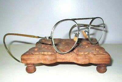 Antique WILLSON Spectacles Safety Glasses Vintage Old Retro STEAMPUNK Dieselpunk