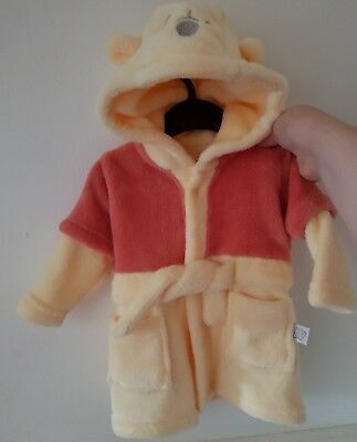 Disney Winnie The Pooh Drssing Gown 0-3