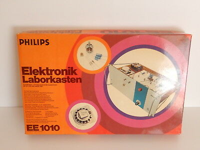 Philips EE1010 Elektronik Laborkasten RAR !!! an Bastler
