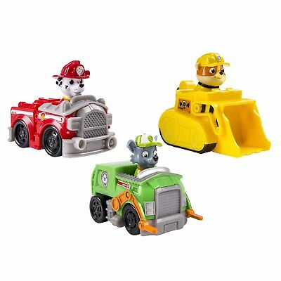 Paw Patrol Rescue Racers Vehicle Set Assorted Toy Set for Kids