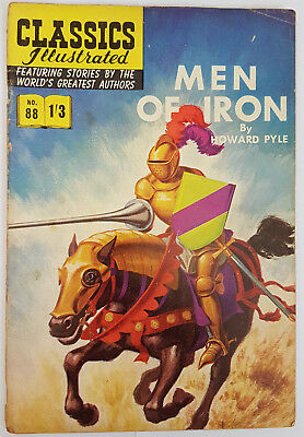 Vintage Classics Illustrated:MEN OF IRON/PYLE No. 82 HRN126 1/3