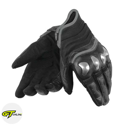 Genuine Dainese X-RUN Black Motorcycle Gloves UK Sizes L - 3XL SALE! RRP! £120